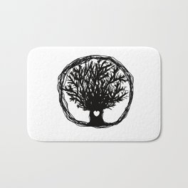 Life tree Bath Mat