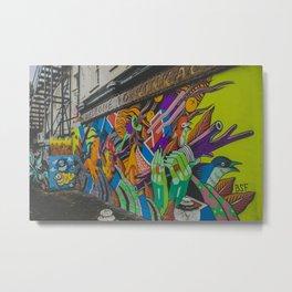 London graffiti art Metal Print