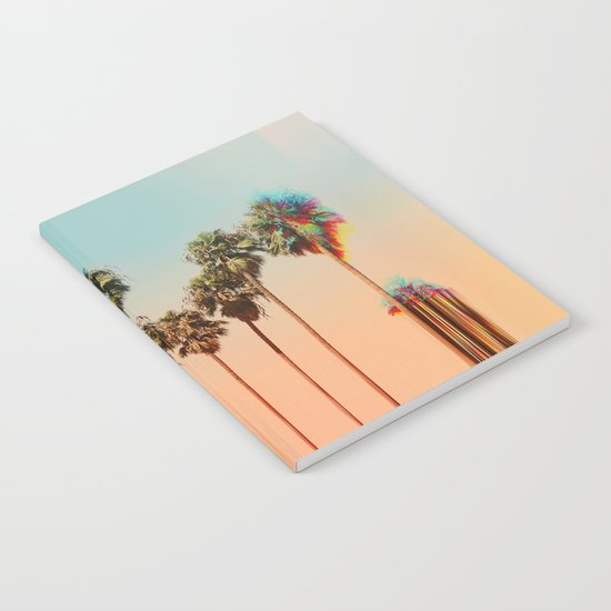 Glitch beach Notebook