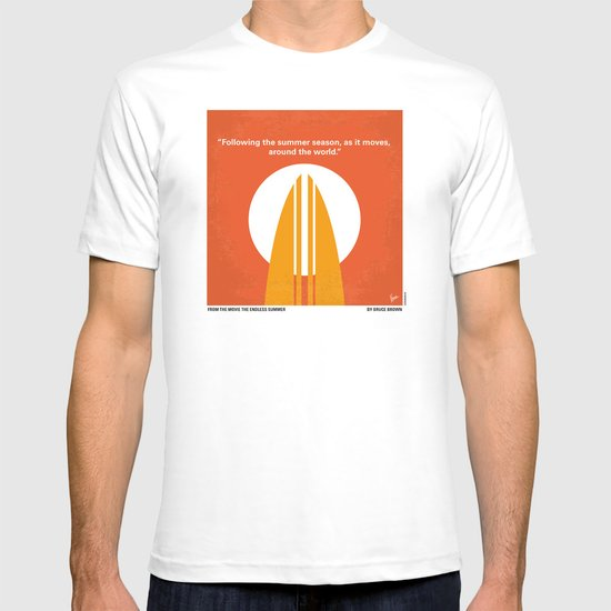No274 My The Endless Summer minimal movie poster T-shirt