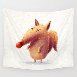Monday fox Wall Tapestry