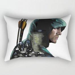 Green Arrow + Star City Rectangular Pillow