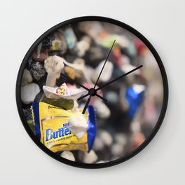 A Cool Gross Bubblegum Alley San Luis Obispo Wall Clock