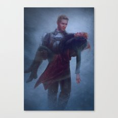 Cullen and Inquisitor - Rescue Canvas Print