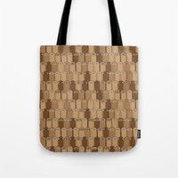 sloths Tote Bags featuring Bunch of Sloths by Bakus