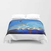custom Duvet Covers featuring Custom by Anthony Billings