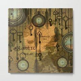 Time Passage Metal Print