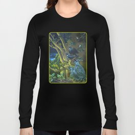 Dawn Chorus in the Primeval New Zealand Wilderness Long Sleeve T-shirt