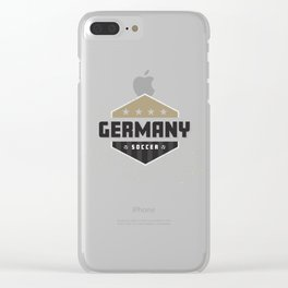 Germany World  Football Soccer Clear iPhone Case