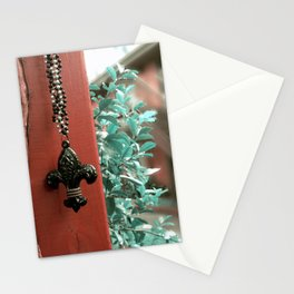 The Fleur- de- Lis Stationery Cards