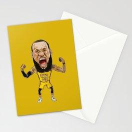 Lebron Scream LA23 Stationery Cards