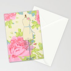 Sewing Room Dress Forms Stationery Cards