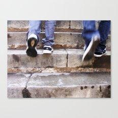 Upward Motion Canvas Print