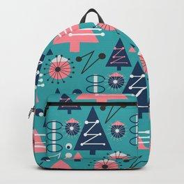 Mid-century modern Christmas Backpack