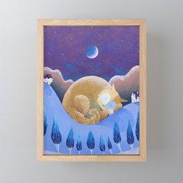 Crescent Dreams Framed Mini Art Print
