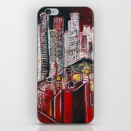 Dreaming of Los Angeles iPhone Skin