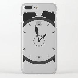 alarm clock Clear iPhone Case