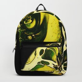 Tint Blot - Cracked Glass Yellow Backpack