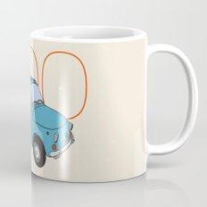 Fiat 500 - Classic Vintage Car Coffee Mug
