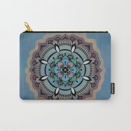 Round Colorful Design Carry-All Pouch