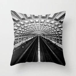 The Underground Throw Pillow