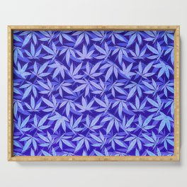 Purple Haze - Cannabis / Hemp / 420 / Marijuana  - Pattern Serving Tray