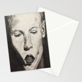 Portrait of An Androgyne Stationery Cards