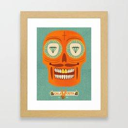 Calaverita. Framed Art Print