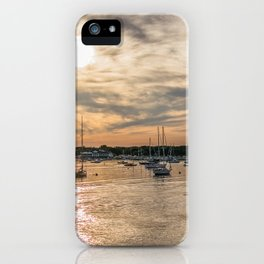 Hyannis sunset iPhone Case