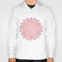 calligraphy Hoodies featuring Calligraphy: Love  by Joumana Medlej