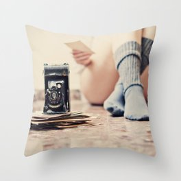 Past time will not return Throw Pillow