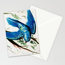 Mountain Bluebird Stationery Cards