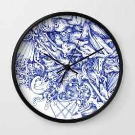 blue period Wall Clock