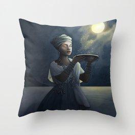 Aurelia ~ A Compendium of Witches Throw Pillow