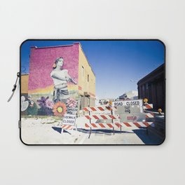 road closed Laptop Sleeve