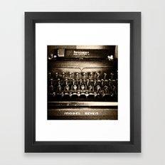 Remington Noiseless Framed Art Print