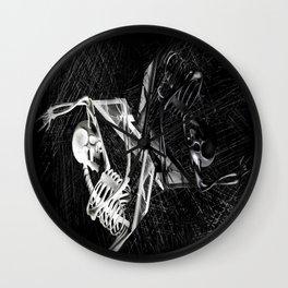 Black 'n' White Dark 'n' Light Wall Clock