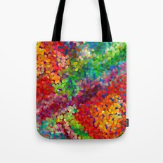Color Theory Clash Tote Bag