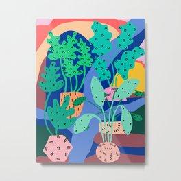 River Plants 1 Metal Print