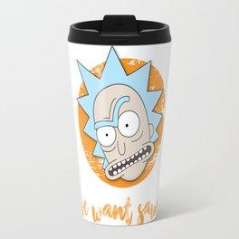 Rick Demands His Sauce! Travel Mug