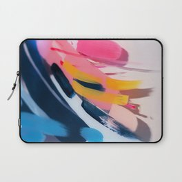 Even After All  #1 - Abstract on perspex by Jen Sievers Laptop Sleeve