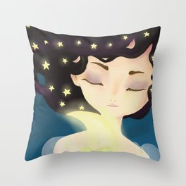 Nocturna Throw Pillow