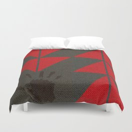 Indigenous Peoples in United States Duvet Cover