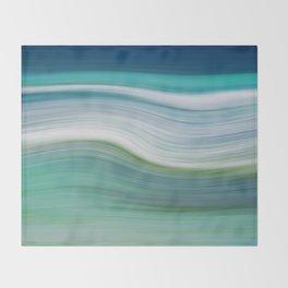 OCEAN ABSTRACT Throw Blanket