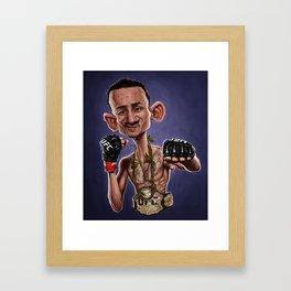 Max Holloway Framed Art Print