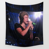 harry Wall Tapestries featuring harry  by AmandaSmentkowskiArt