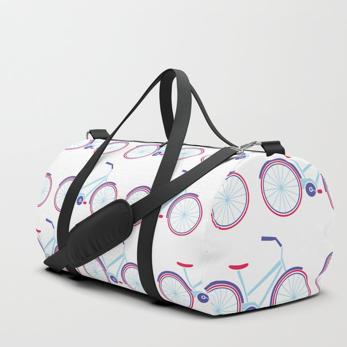 Everything is better on a bike Duffle Bag