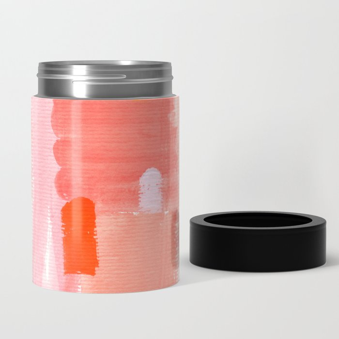 Put Sorrows In A Jar - abstract modern art minimal painting nursery Can Cooler