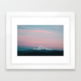 Mount Hood III Framed Art Print