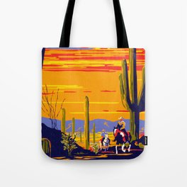 Saguaro National Monument Tote Bag
